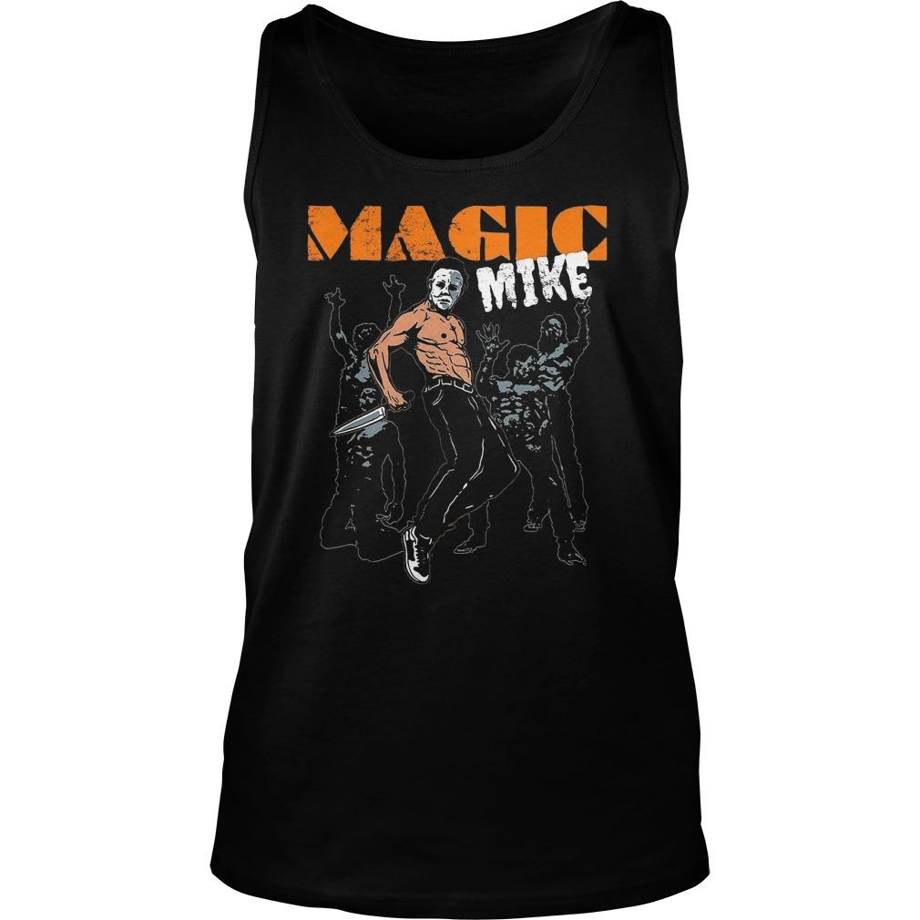Halloween Michael Myers Magic Mike Tank Top