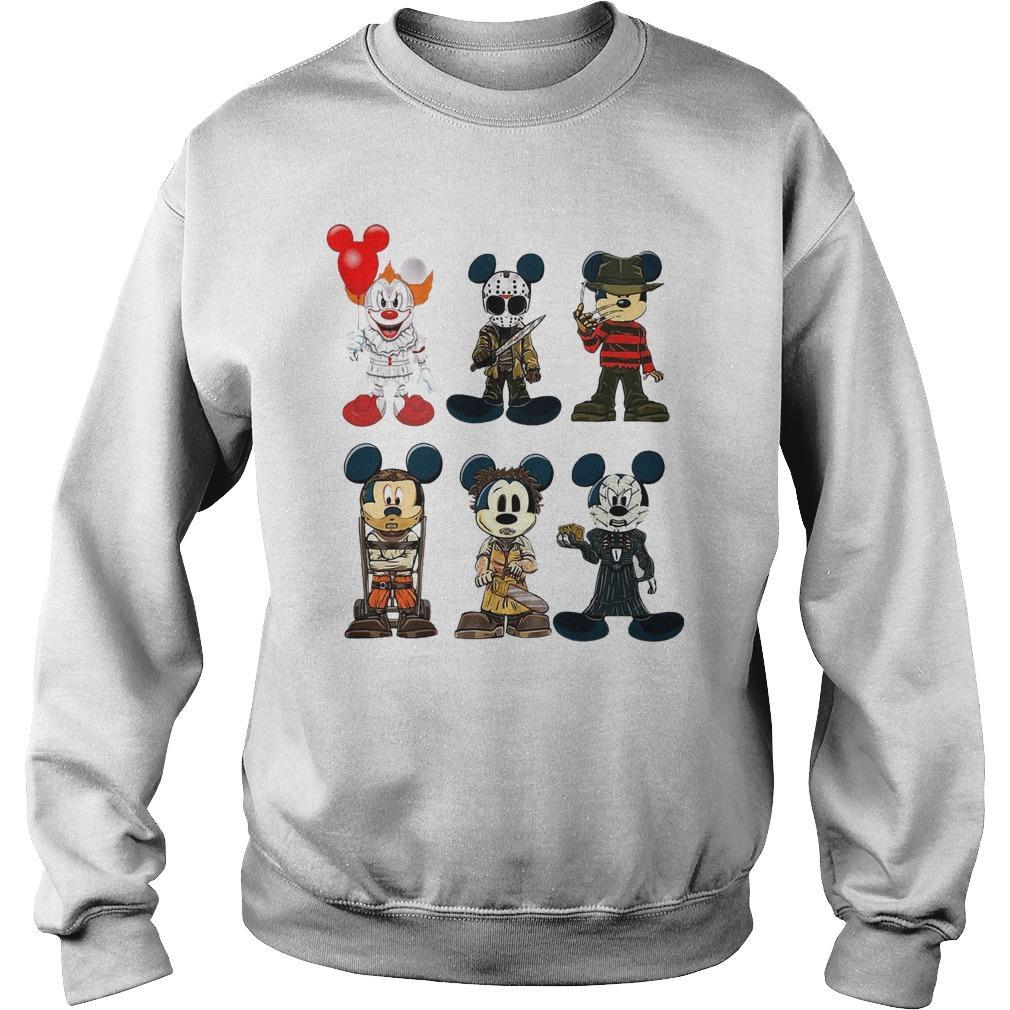 Halloween Mickey Cosplay Horror Characters Sweater
