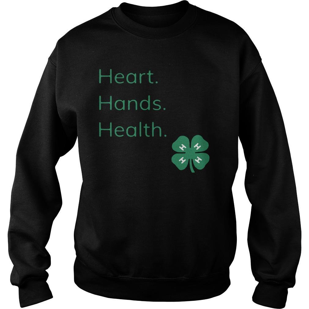 Head Heart Hands Health Sweater