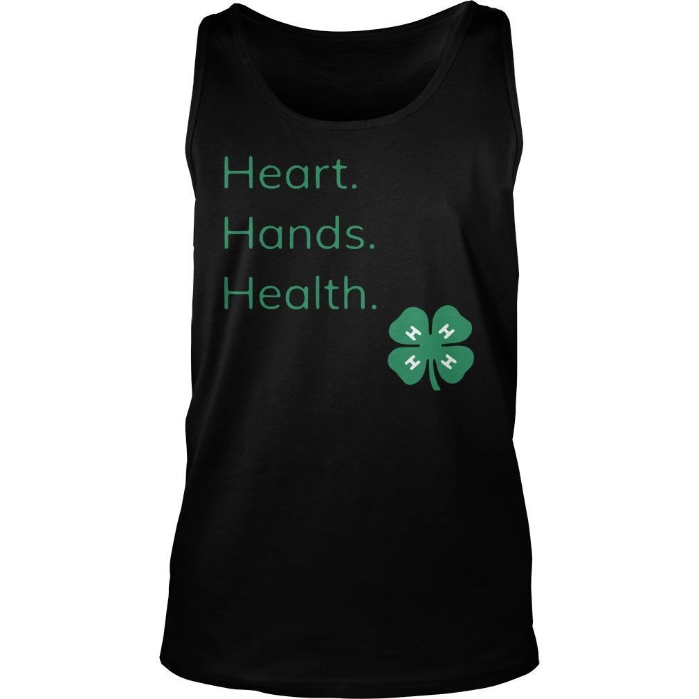 Head Heart Hands Health Tank Top