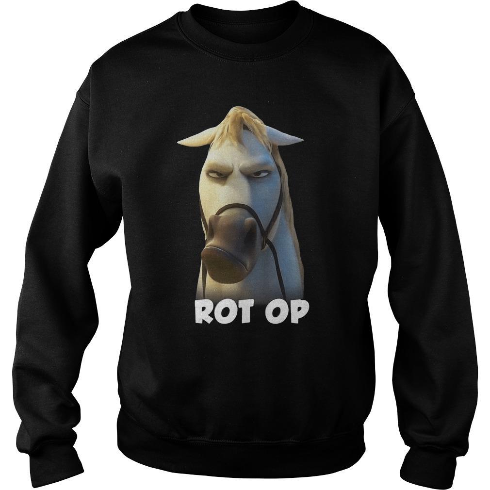Horse Rot Op Sweater