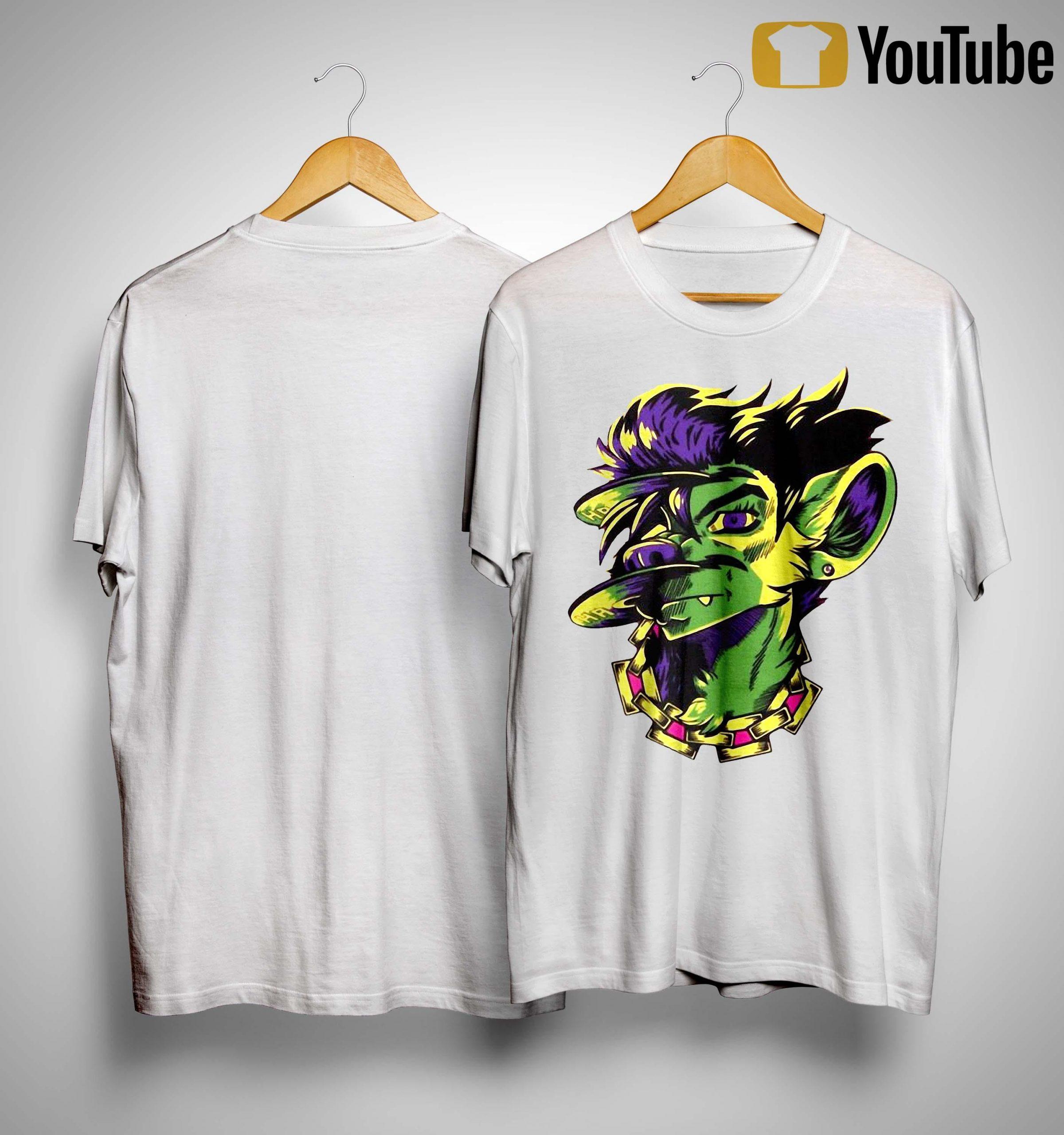 Hyena Agenda Store Merch Eject Shirt