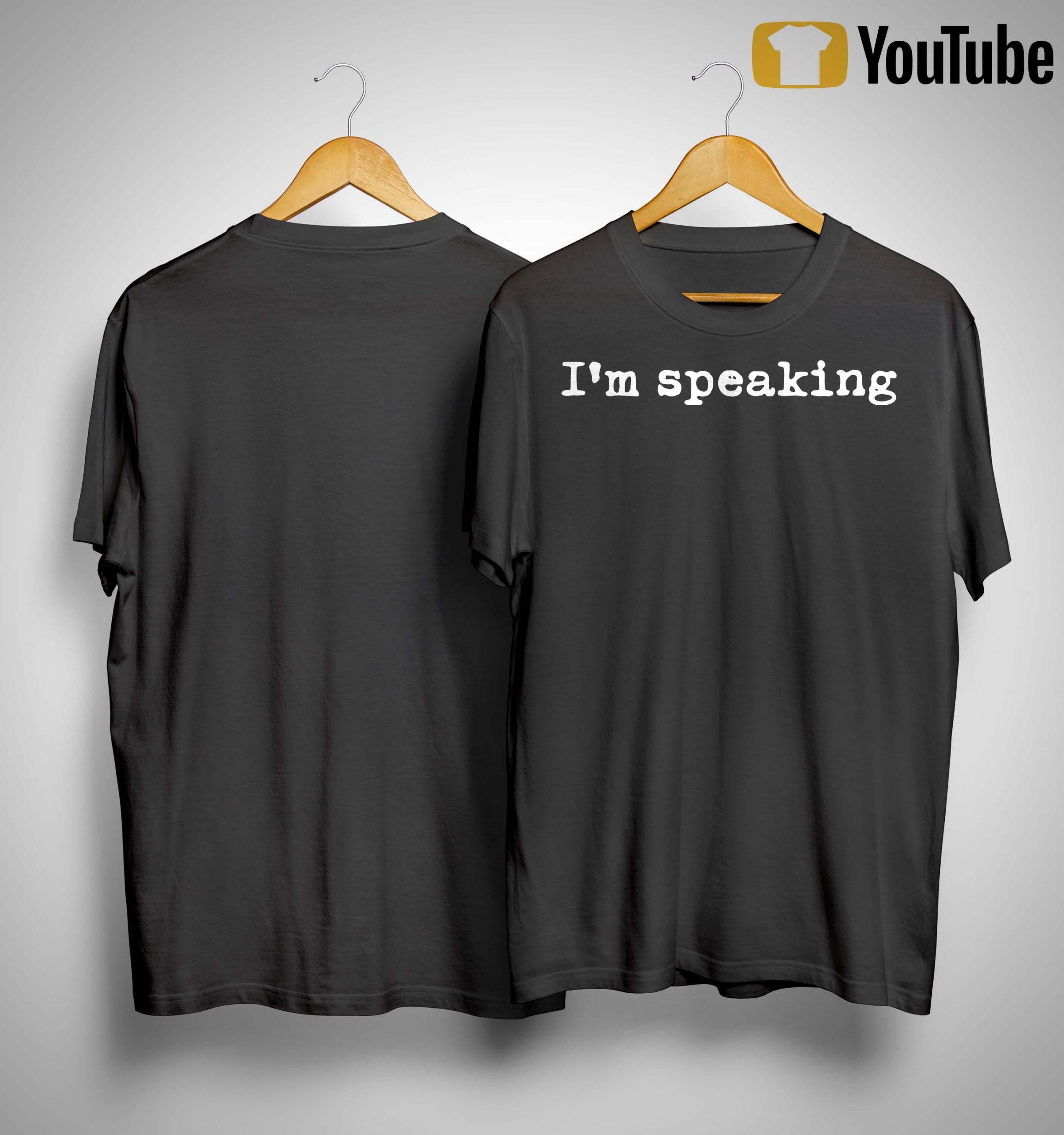 Im Speaking Shirt