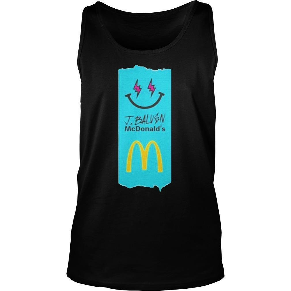 J Balvin Mcdonalds Tank Top