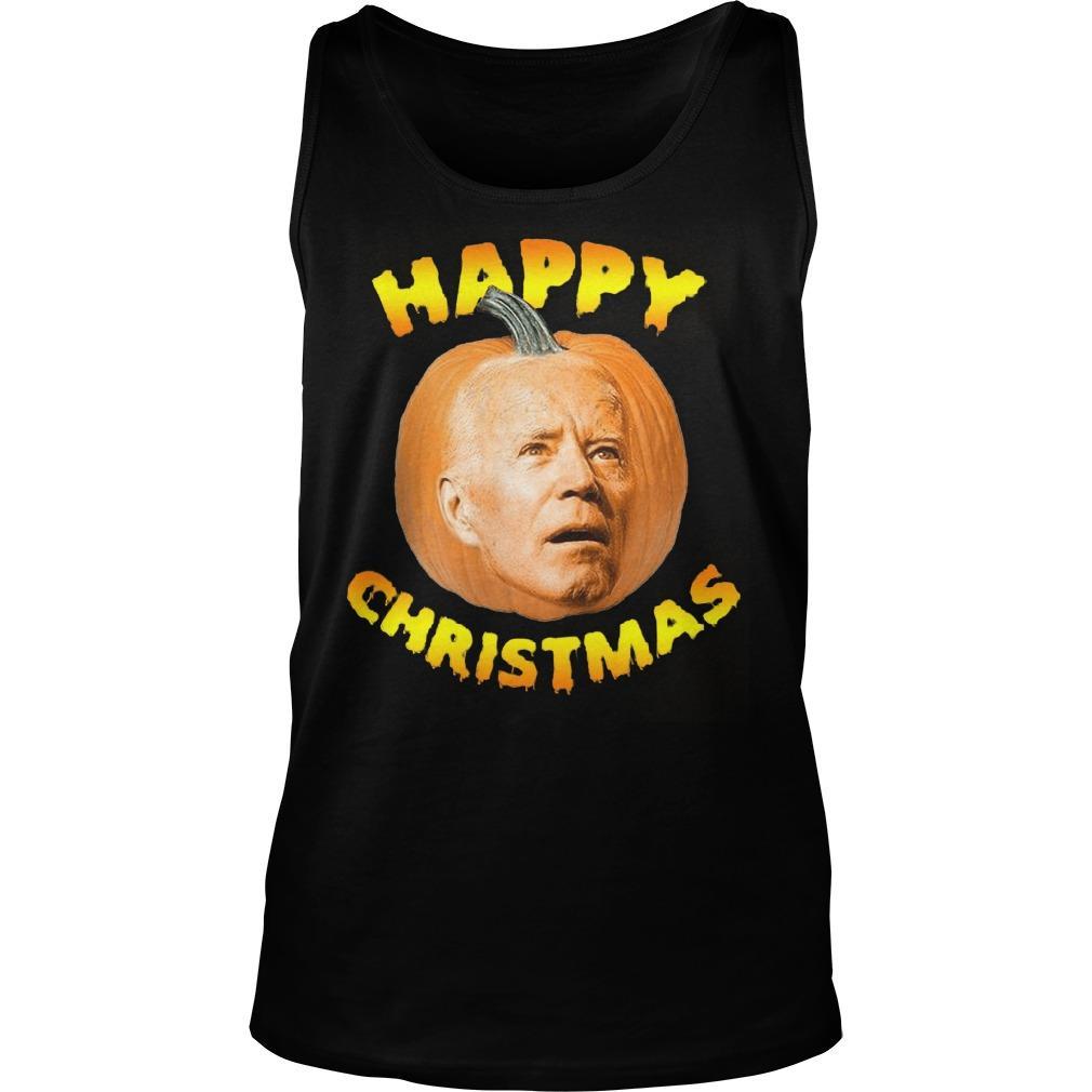 Joe Biden Happy Christmas Tank Top