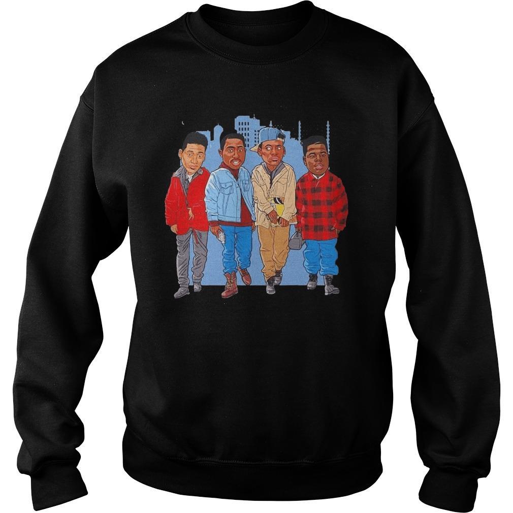Juice 90s Movie Cartoon Sweater
