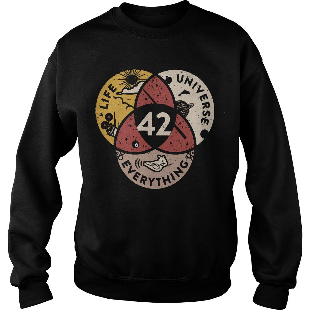Life Universe Everything 42 Sweater