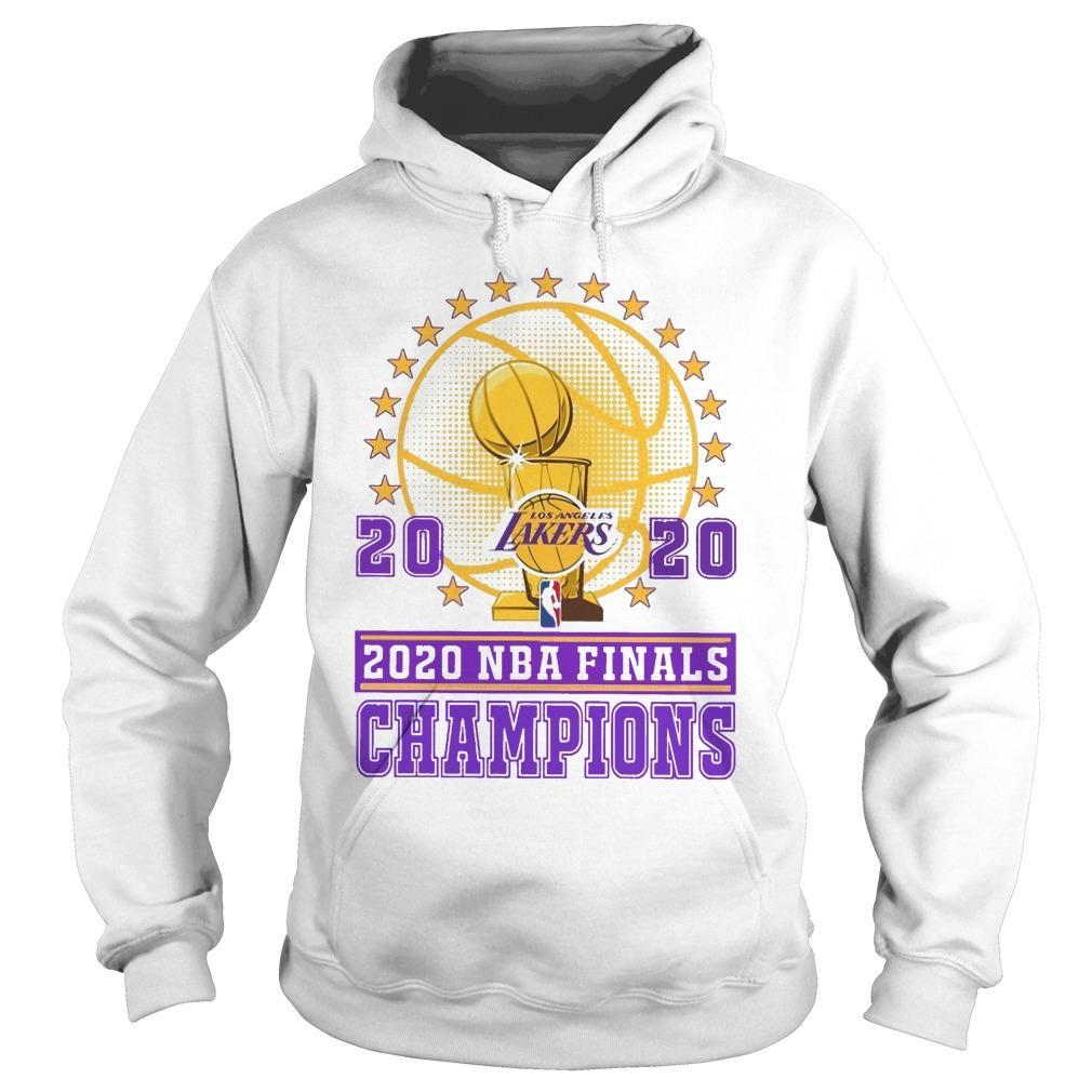 Los Angeles Lakers 2020 Nba Finals Champions Hoodie