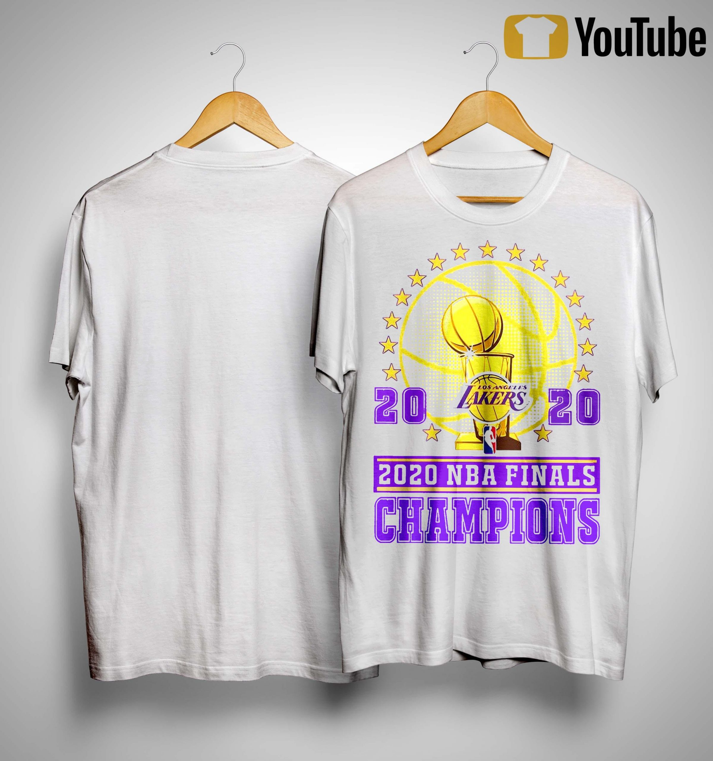 Los Angeles Lakers 2020 Nba Finals Champions Shirt