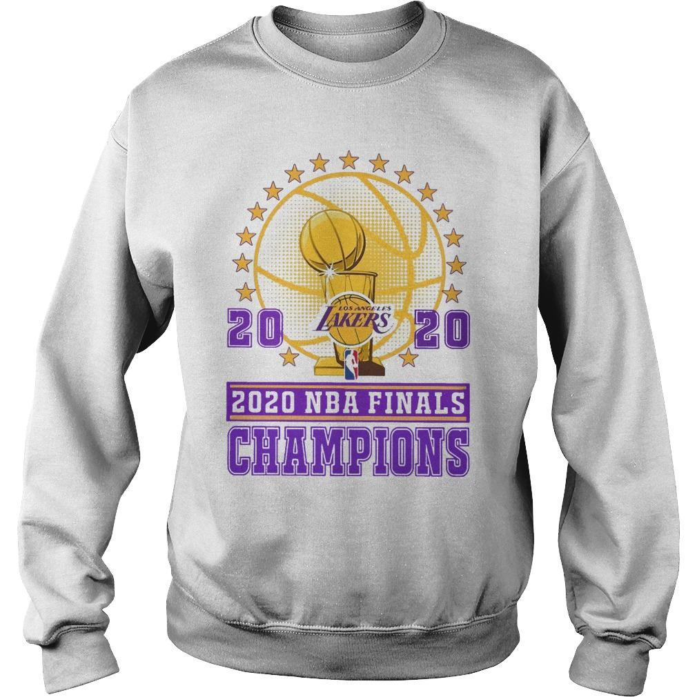 Los Angeles Lakers 2020 Nba Finals Champions Sweater