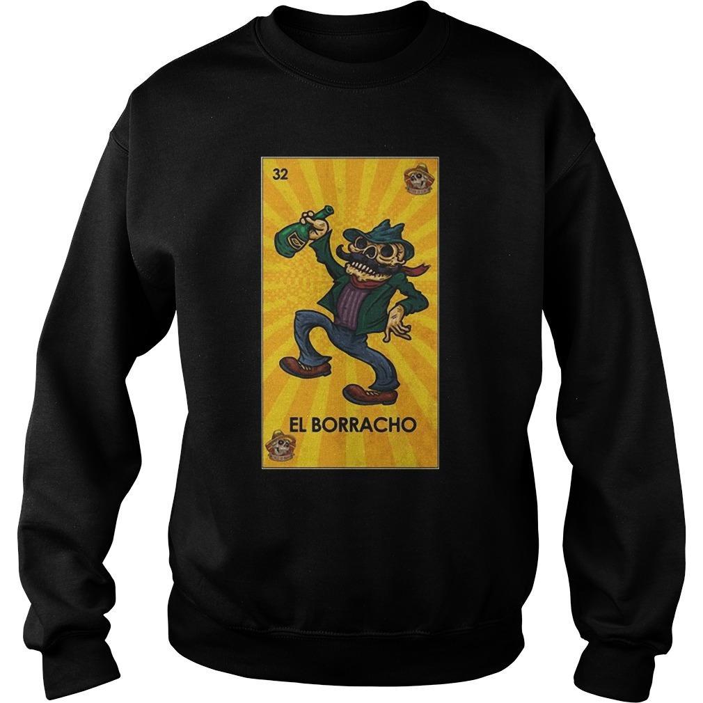Loteria Chingon El Borracho Sweater