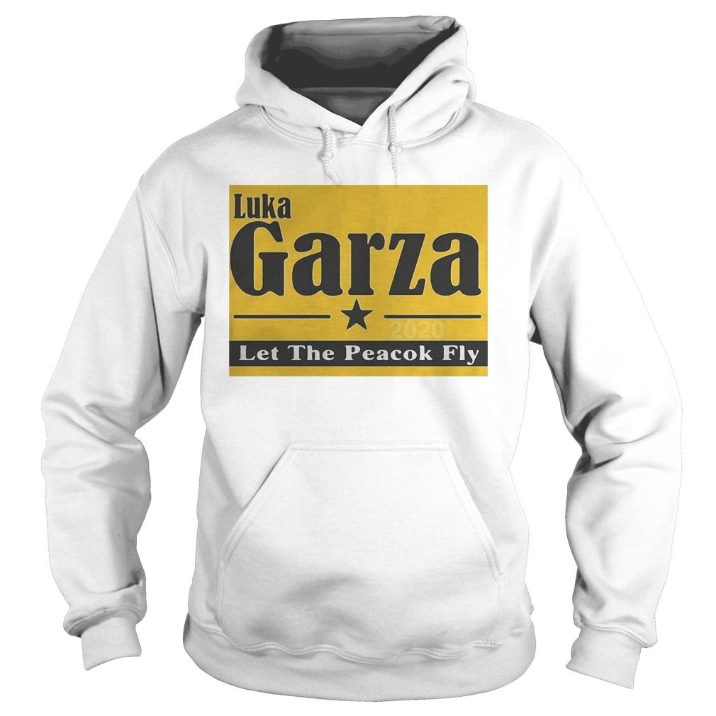 Luka Garza 2020 Let The Peacock Fly Hoodie
