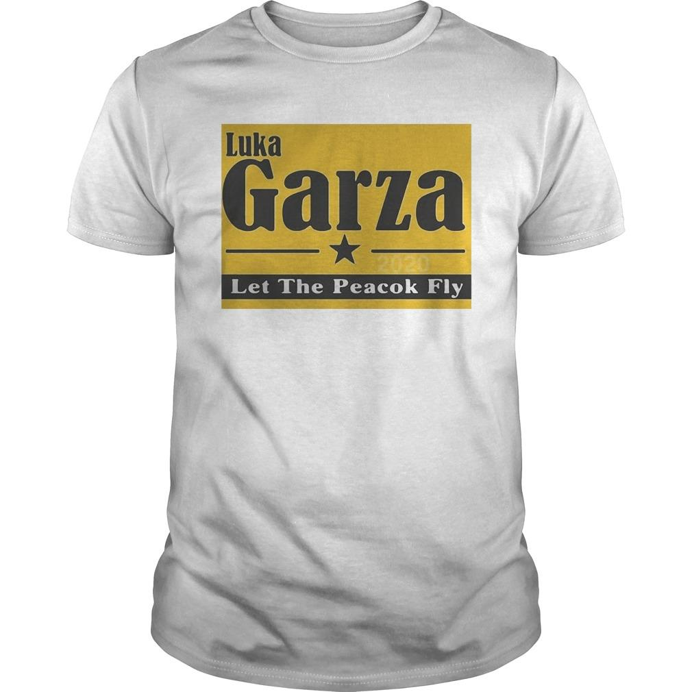 Luka Garza 2020 Let The Peacock Fly Shirt