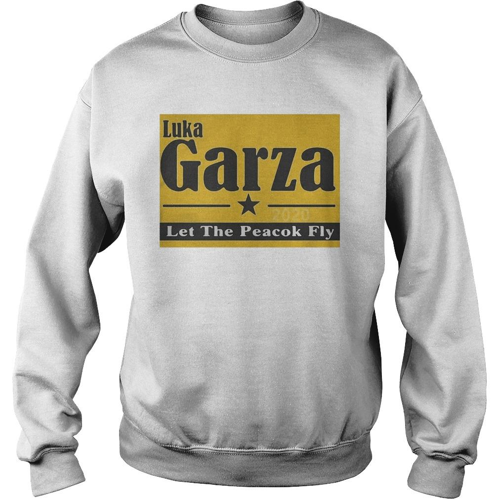 Luka Garza 2020 Let The Peacock Fly Sweater