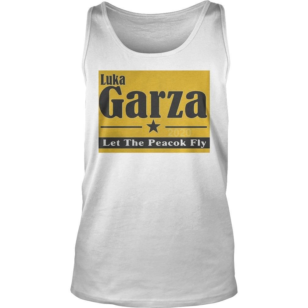 Luka Garza 2020 Let The Peacock Fly Tank Top