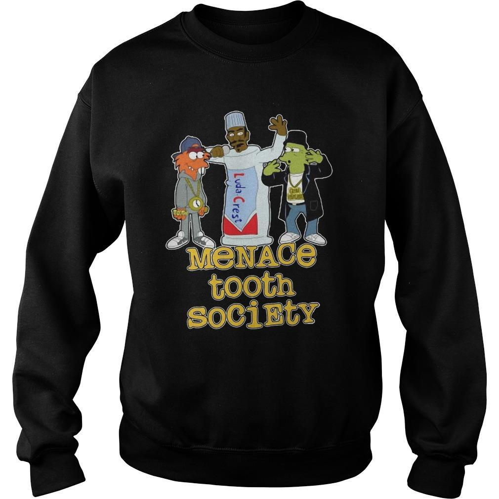 Menace Tooth Society Sweater