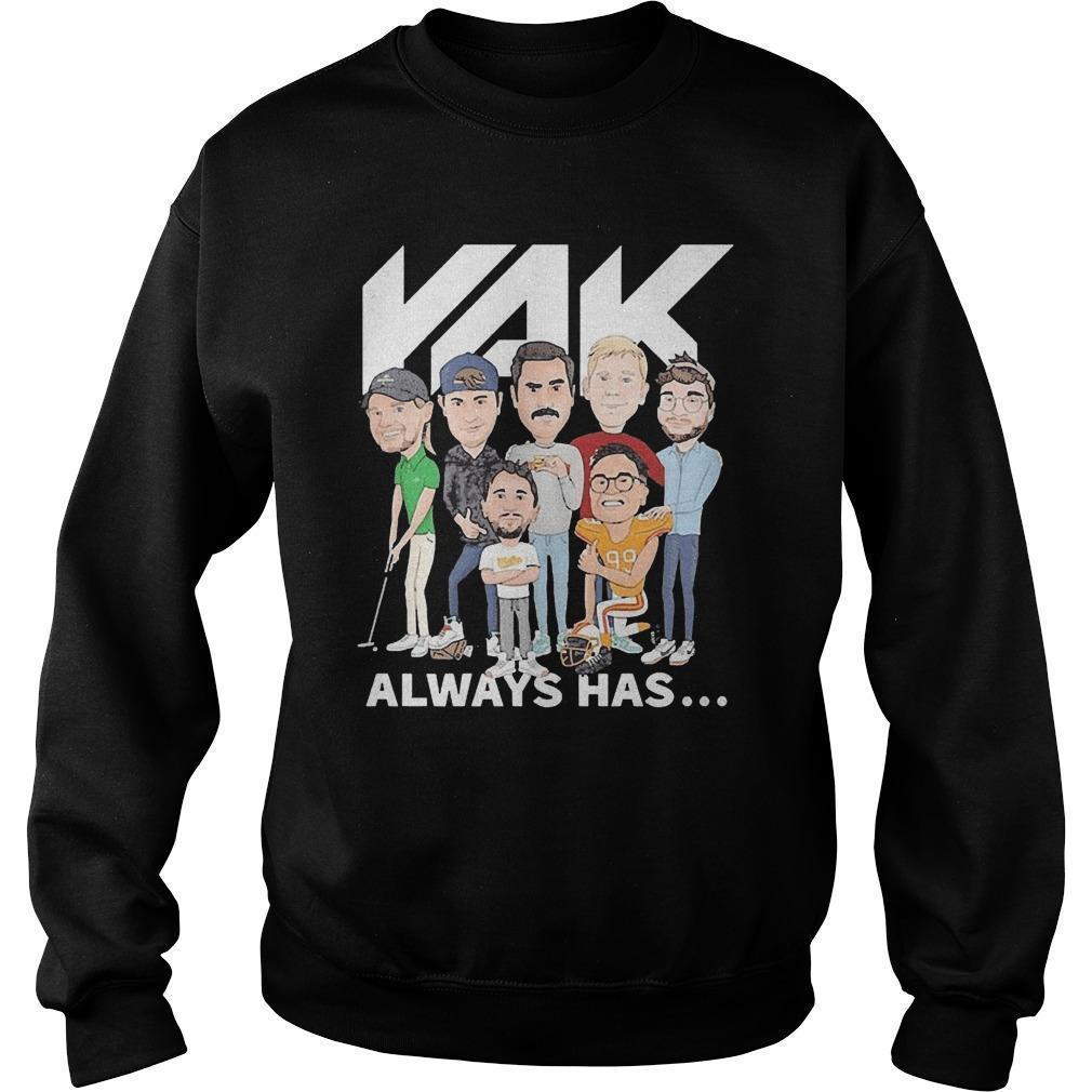 Rak Always Has Sweater