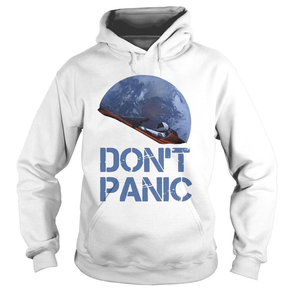 Starman Essential Don't Panic Hoodie