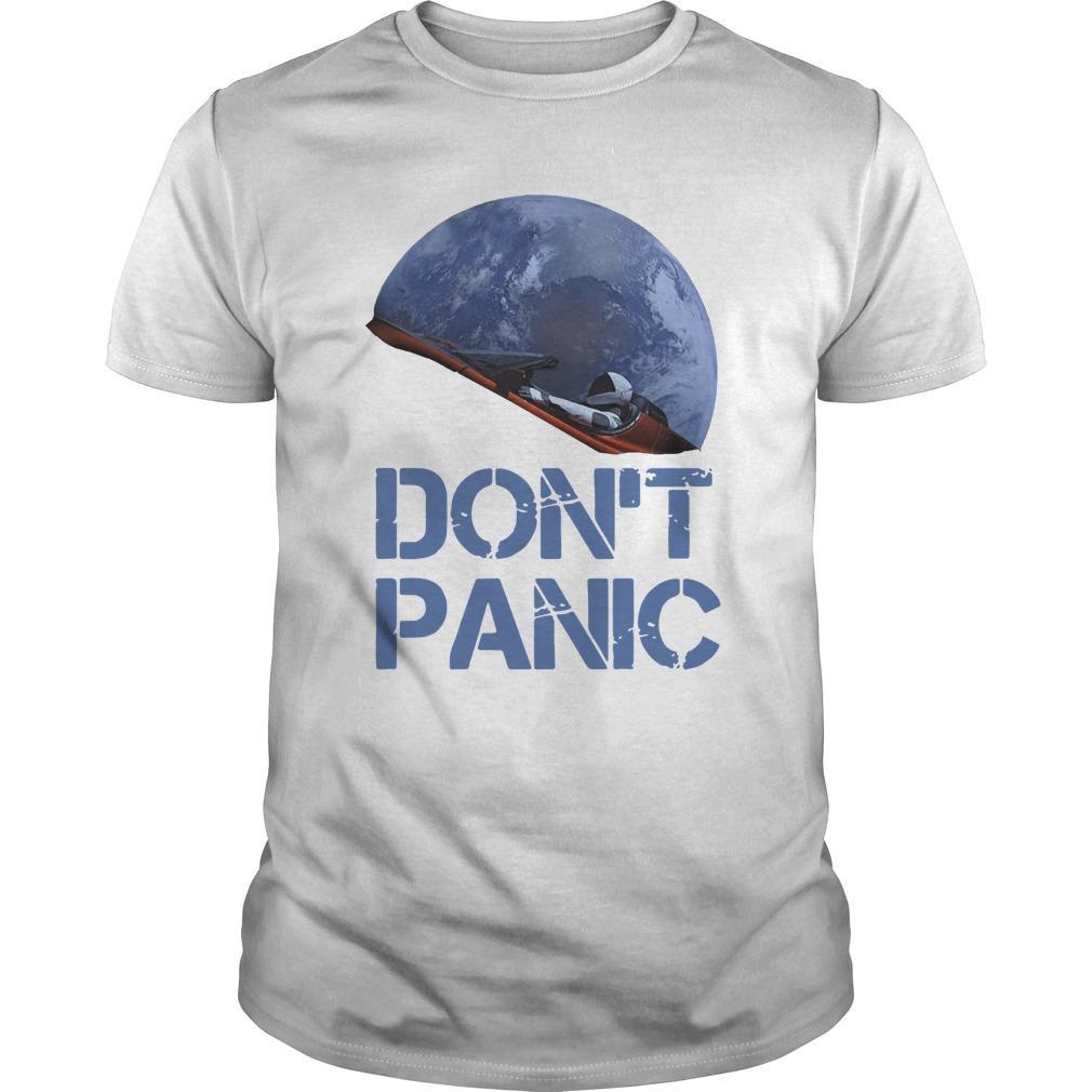 Starman Essential Don't Panic Shirt