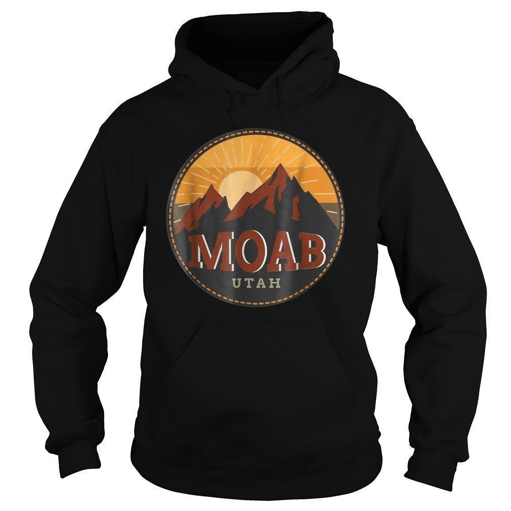 Sunset Mountain Moab Utah Hoodie