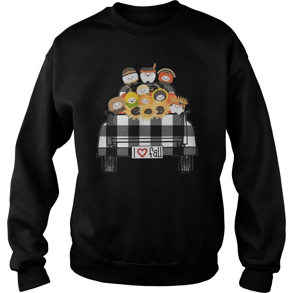 Tooth Sunflower Native I Love Fall Sweater