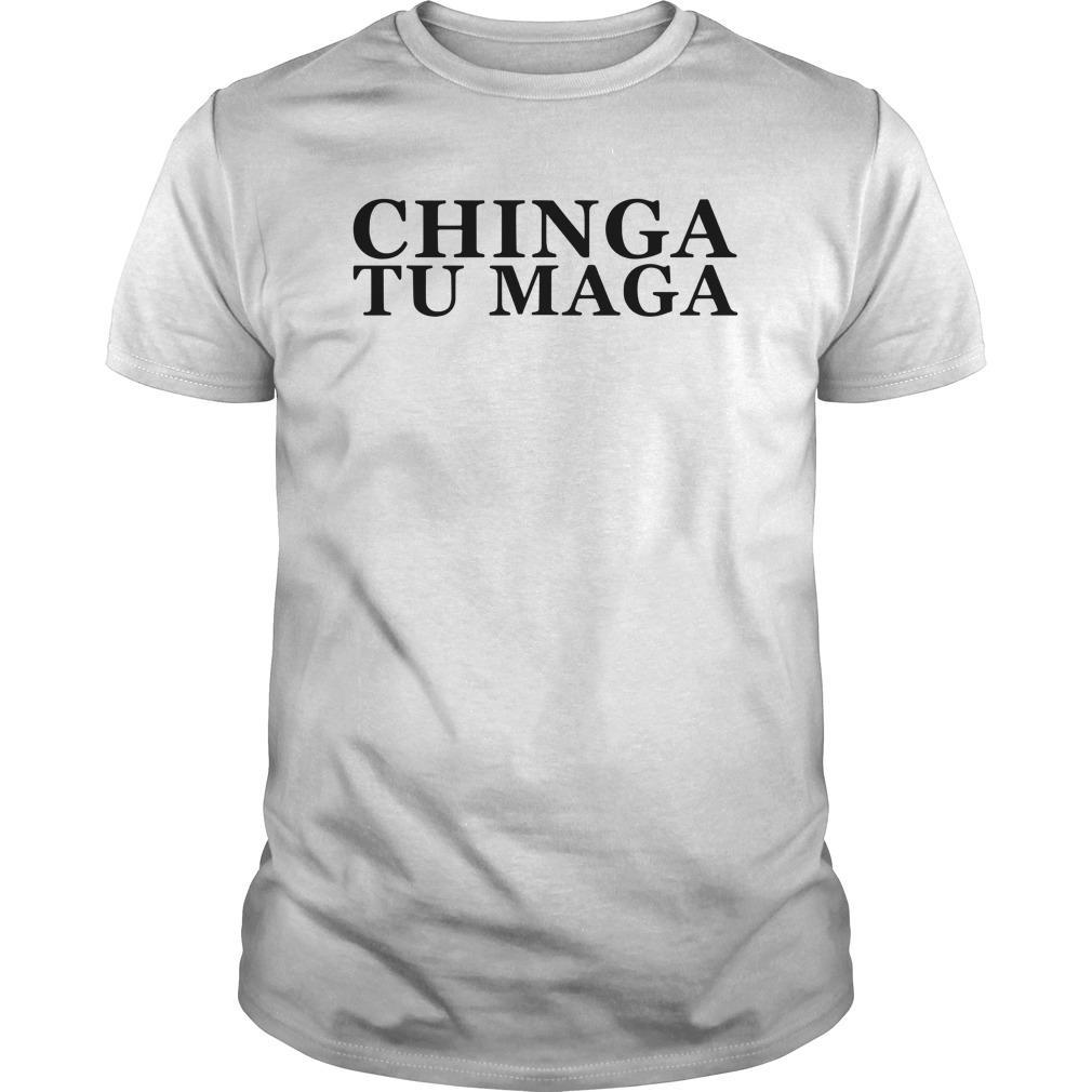 Trump Mexican Spanish Latin Chinga Tu Maga Longsleeve