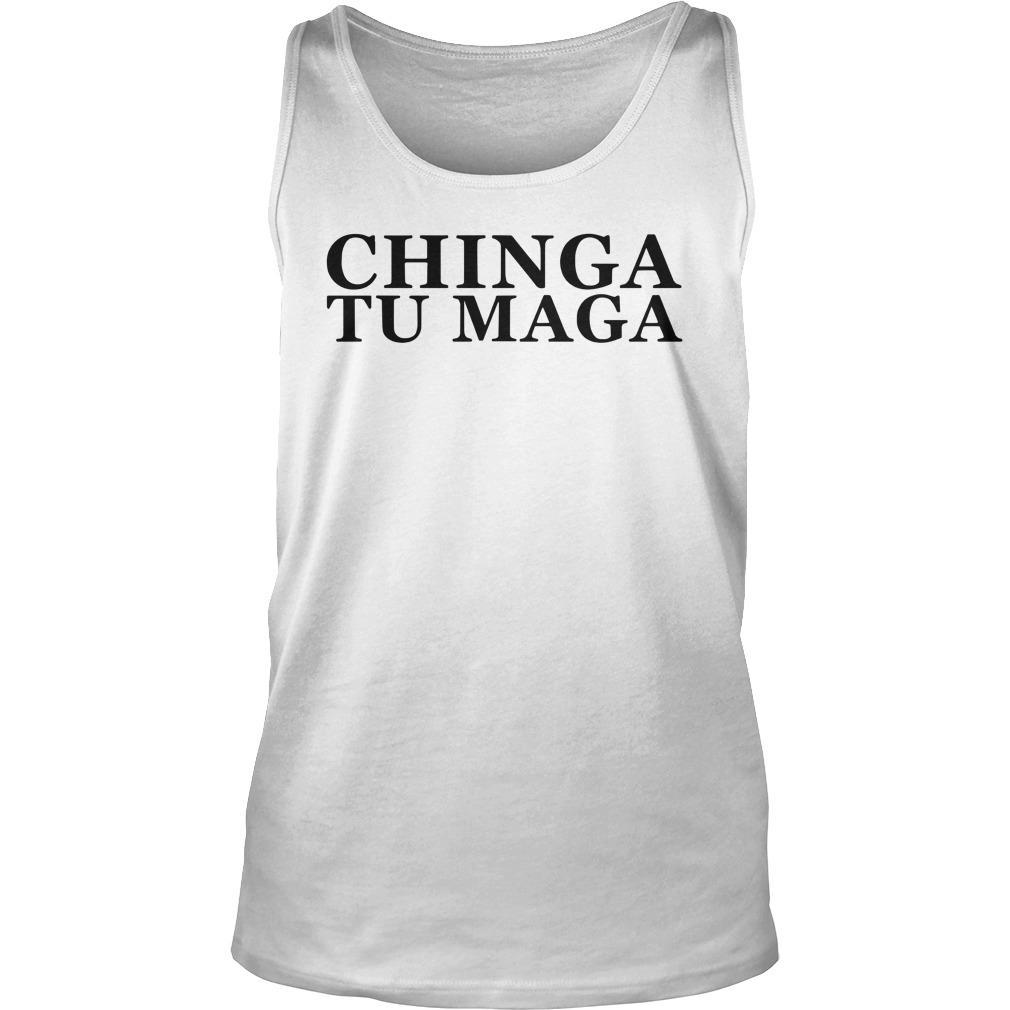 Trump Mexican Spanish Latin Chinga Tu Maga Tank Top