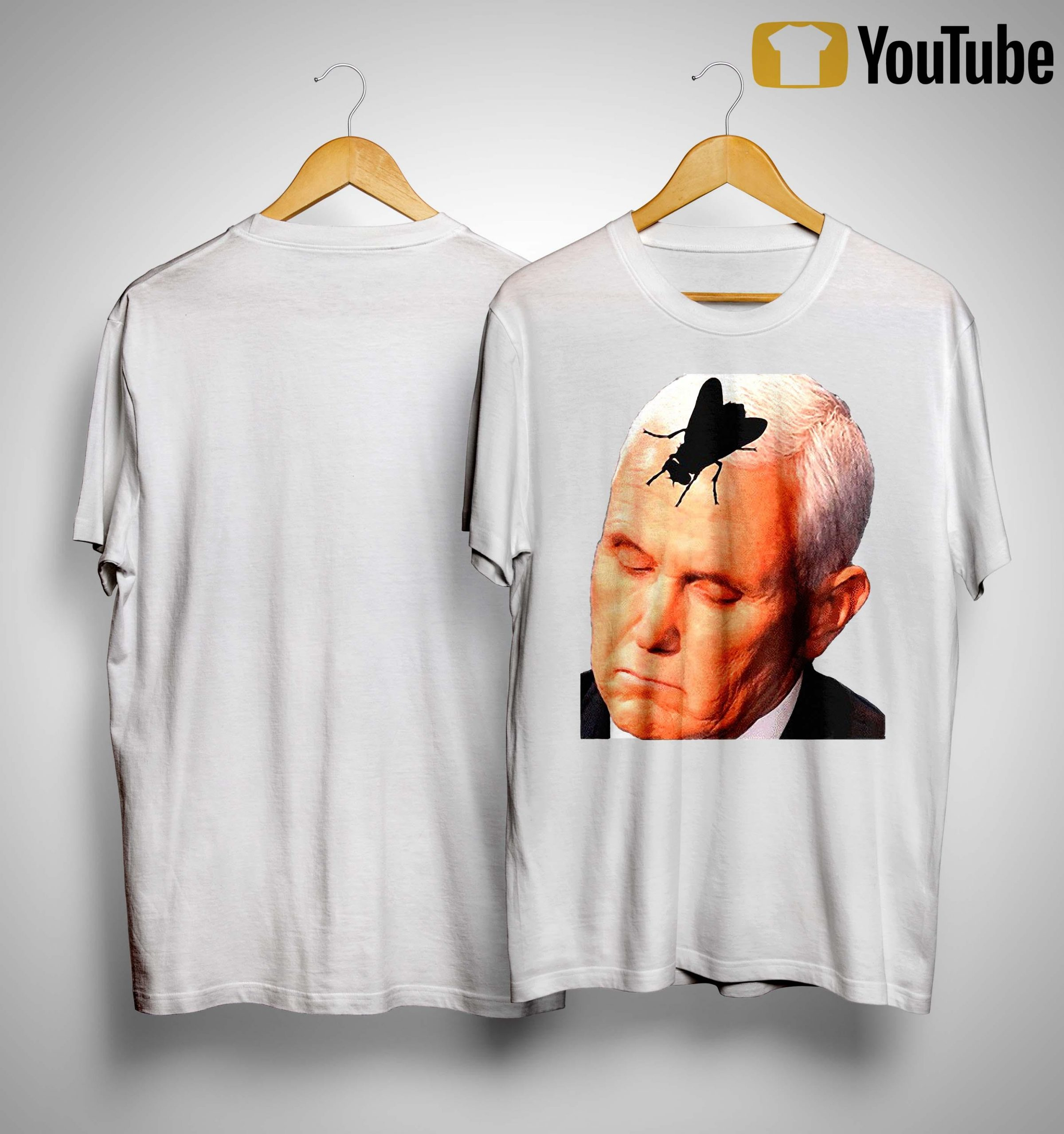 Vice President Mike Pence With Fly On The Head Shirt