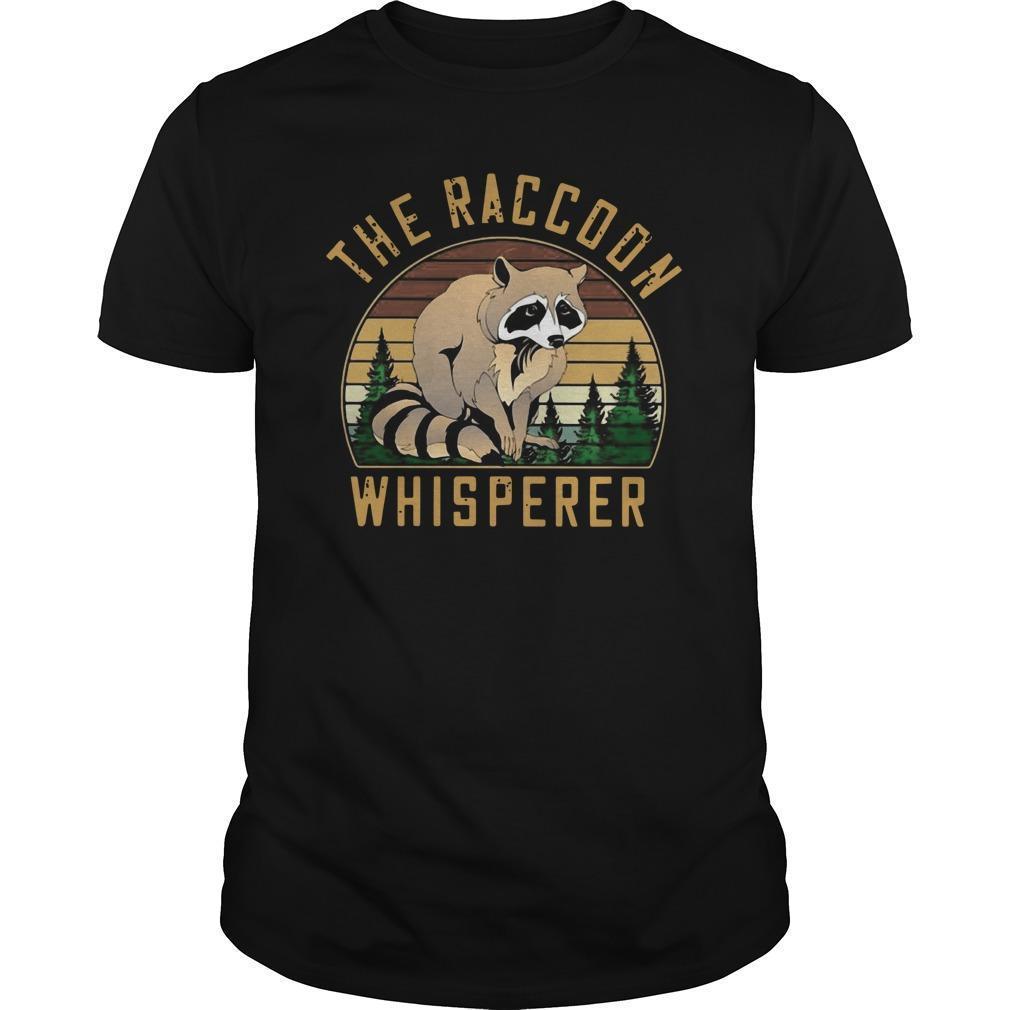 Vintage The Racoon Whisperer Longsleeve