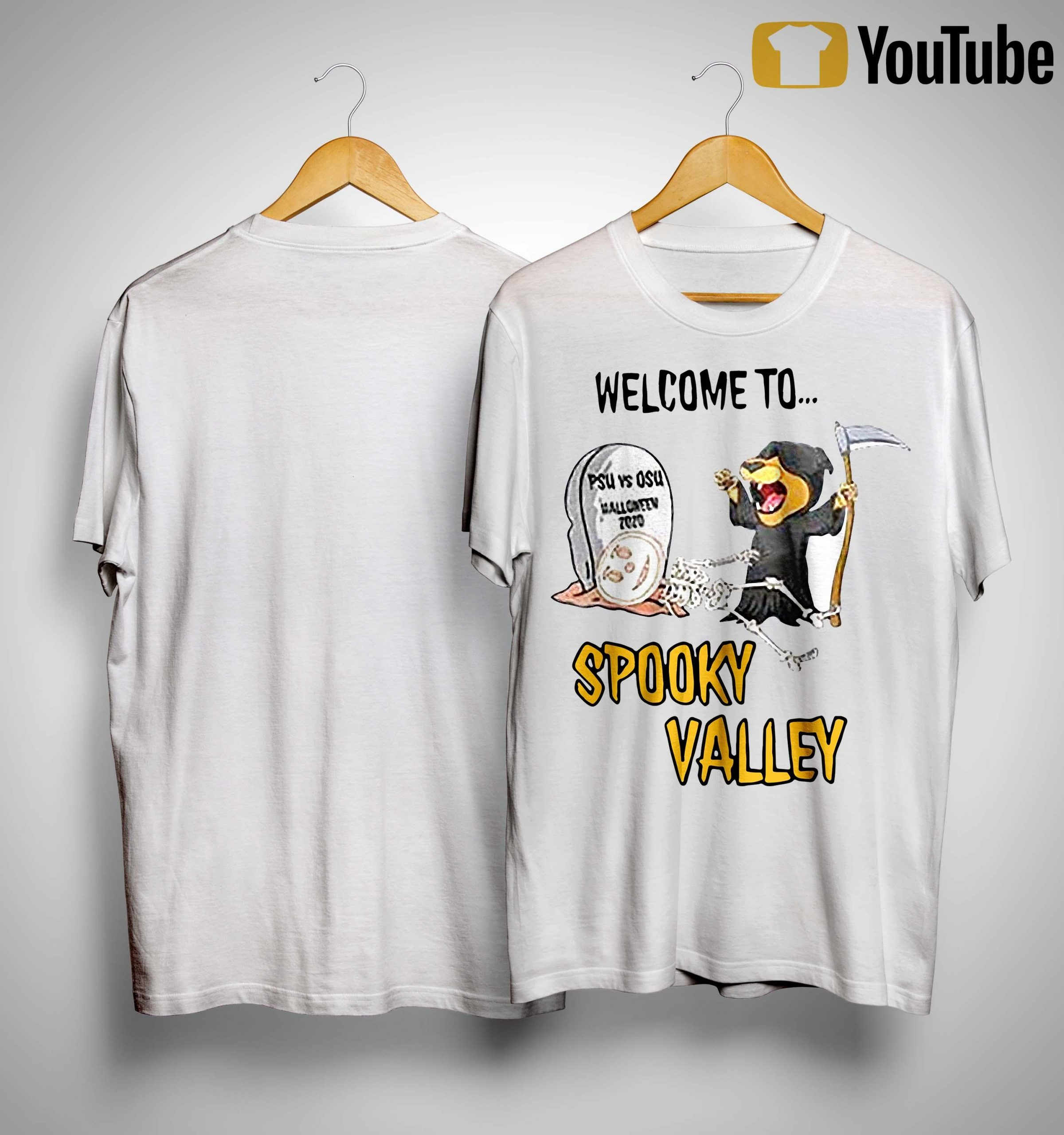 Welcome To Spooky Valley Shirt