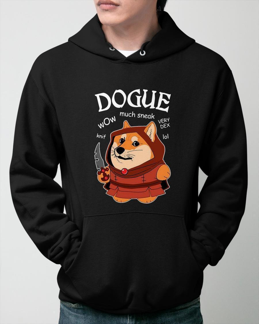 Dogue Knife Wow Much Sneak Very Dex Lol Hoodie