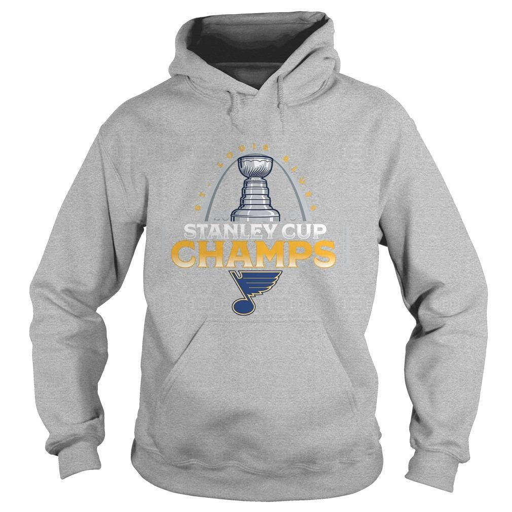St Louis Blues Stanley Cup Champions Hoodie